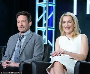 Duchovny Back On Tv by X Files Gillian Says She Had To Learn To