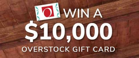 Overstock Sweepstakes 2017 - hgtv overstock com dream big spend less sweepstakes