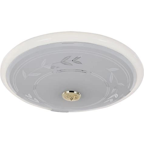 Circular Fluorescent Ceiling Light circular fluorescent etch flush ceiling fitting frosted