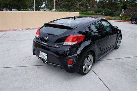 hyundai veloster turbo blacked out 2013 hyundai veloster turbo review web2carz