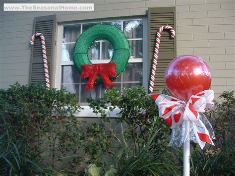 outdoor candy a christmas decorating idea 171 the
