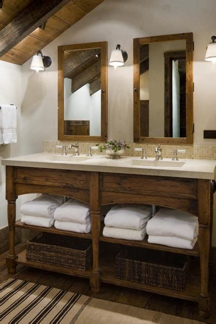 impressive ideas  rustic bathroom vanity rustic