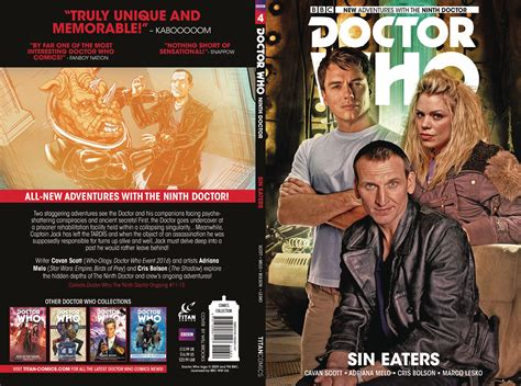 doctor who the ninth doctor volume 4 eaters books marco lesko fresh comics