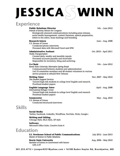 Exle High School Resume by High School Resume Template E Commercewordpress