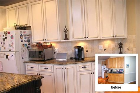 refacing kitchen cabinets before and after images cabinet refacing gallery cabinets kitchen and bathroom