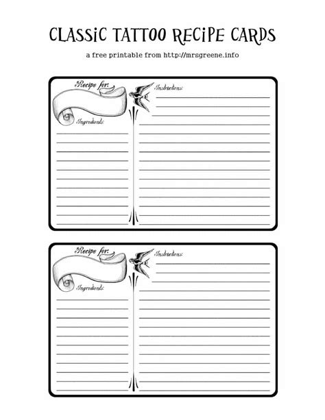 Printable Cookbook Template Vastuuonminun Cookbook Page Template Free