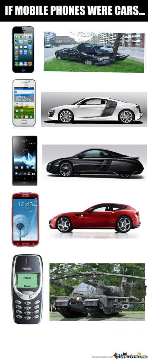 If I Were A Phone I Would Be by Rmx Rmx If Mobile Phones Were Cars By Redjokerdx