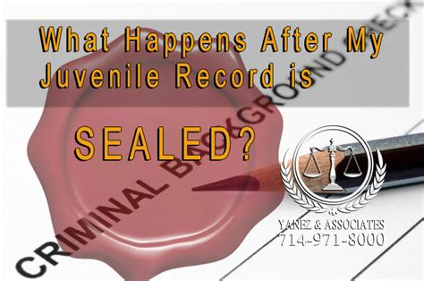 Juvenile Records Background Check Process For Sealing Juvenile Criminal Records In Oc California