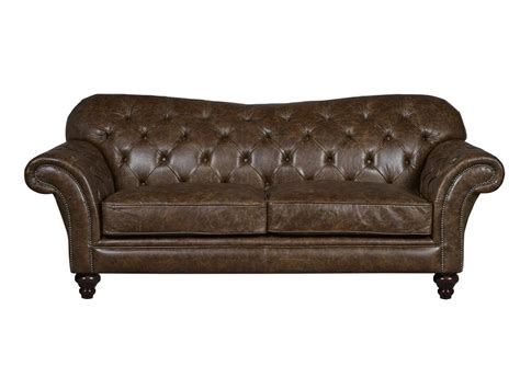 Brown Vintage Leather Sofa by Vintage Brown Leather Sofa Arundel Chesterfield Sofas