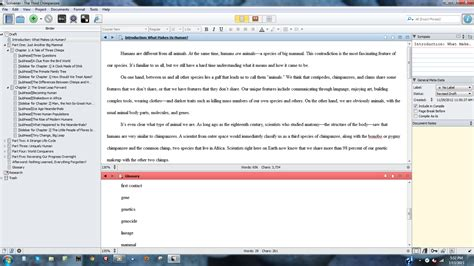 scrivener non fiction book template gallery templates