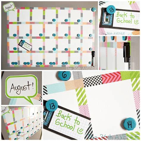 how to make a whiteboard calendar the 36th avenue make a white board magnetic calendar
