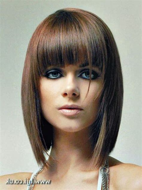 Angled Bob Hairstyles With Bangs by 17 Best Images About Hairstyles On Shorts