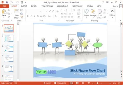 flowchart powerpoint template animated flowchart maker templates for powerpoint and keynote