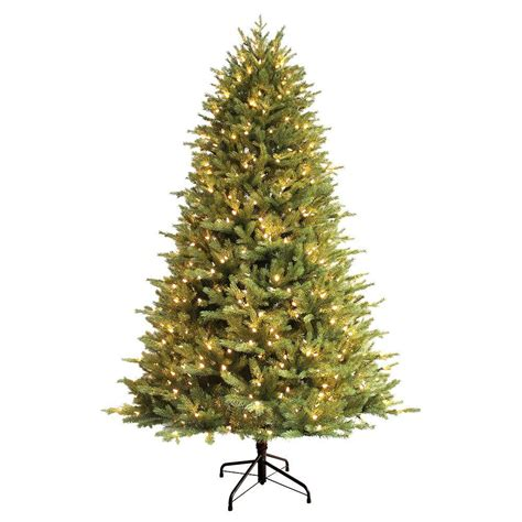 ge 7 5 ft just cut balsam fir ez light artificial