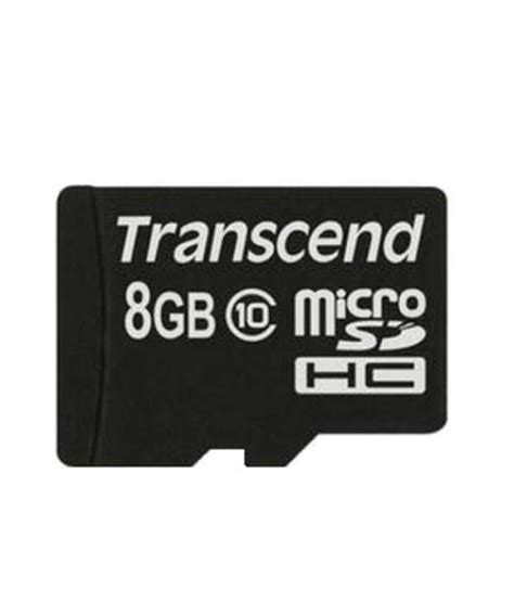 Microsd 8gb Class 10 transcend microsd 8gb class 10 memory cards at low prices snapdeal india