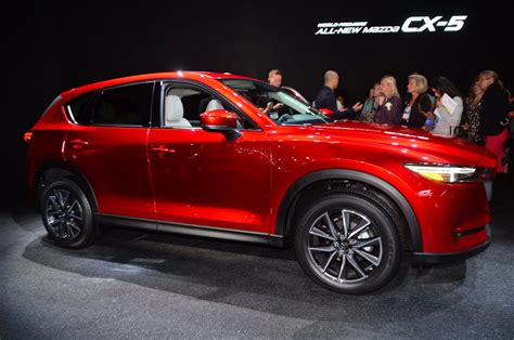 types of mazdas curvy new 2017 mazda cx 5 looks really good in soul red