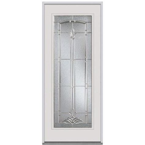 Decorative Replacement Glass For Front Door by Milliken Millwork 36 In X 80 In Bristol Decorative Glass