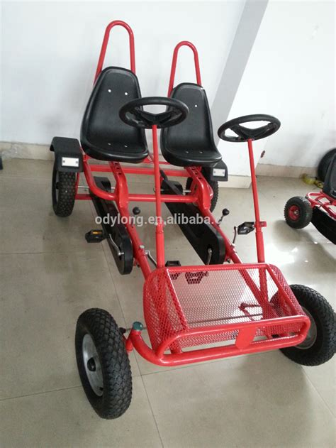 4 seater go karts cheap cheap two seat adult pedal go kart f2150 buy adult pedal