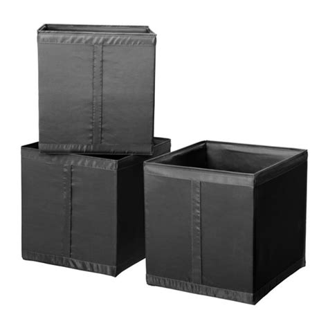 Wardrobe Storage Box by 3 X Ikea Skubb Storage Boxes Fits Pax Wardrobe Black Ebay