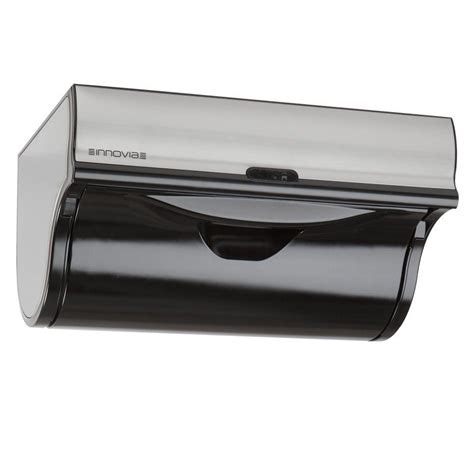 innovia automatic paper towel dispenser black wb2 159b