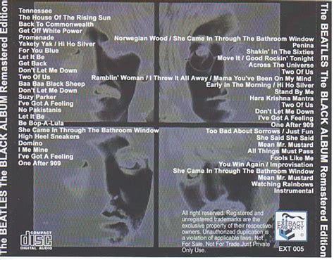 The Beatles Black 1 beatles the black album remastered edition 1cd giginjapan