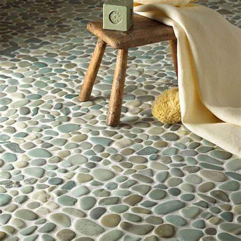 pebble tiles for bathroom best 25 pebble tiles ideas on pinterest pebble tile