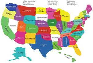Map Of Usa With States Usa Satates Map Map Of Usa With Satates Usa Polical Map