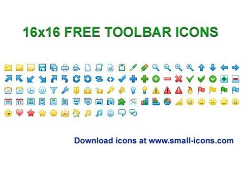 Home Design Software For Mac Os X 16x16 free toolbar icons freeware version 2013 1 by small