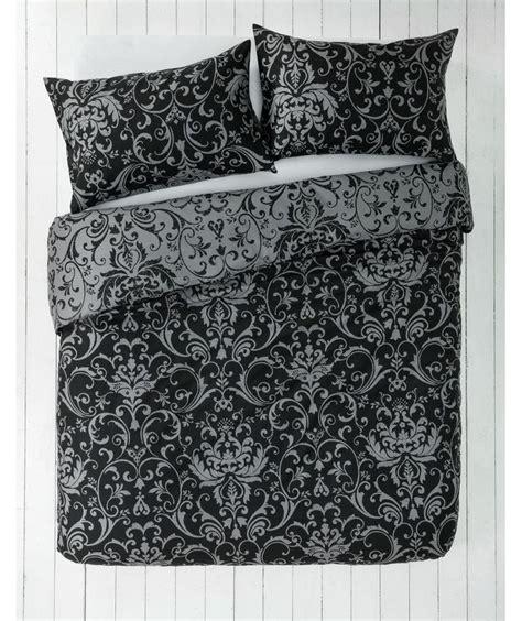 grey damask bedding buy black and grey damask bedding set kingsize at argos co uk your online shop for duvet