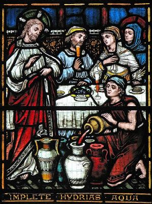 Wedding At Cana Commentary by Stained Glass Spendor October 2009