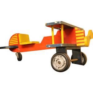 Vintage wooden toy airplane from oldegoodthings on ruby lane
