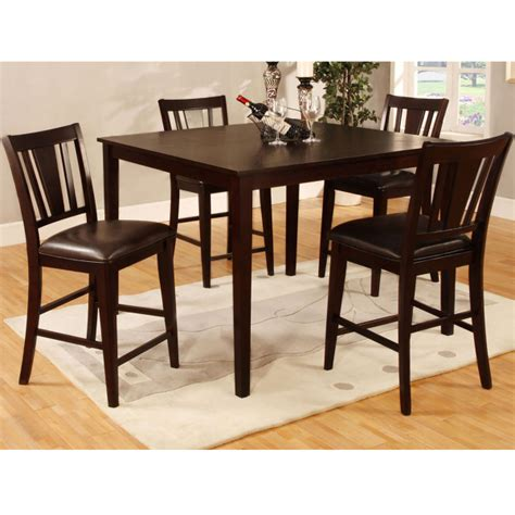 marvelous high top dining set 4 counter height dining