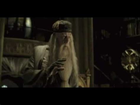 the ring bathroom scene when harry touches the ring it reacts because dark magic