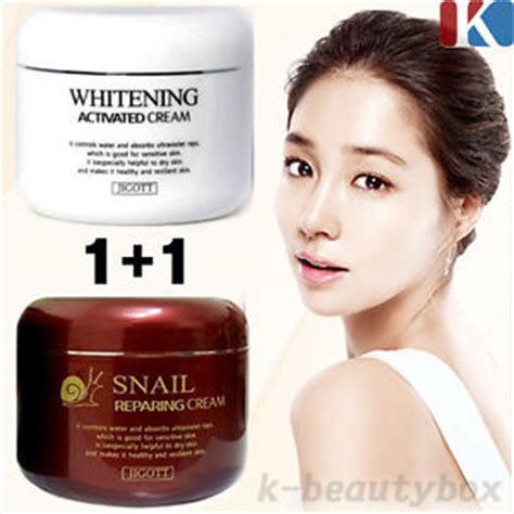 Shammy Whitening Lotion Korea 1 1 whitening activated 100g snail reparing 100g korean cosmetics ebay