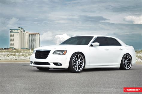 custom white chrysler 300 white chrysler 300 customized for royal look carid