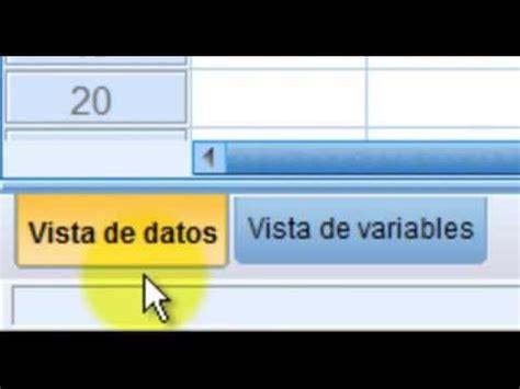 tutorial spss evelio hernandez tutorial de spss video 1 ests son 10 videos tutoriales
