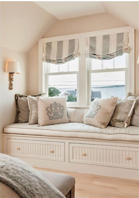 bedroom window seat coastal interior window seat in the bedroom what i like