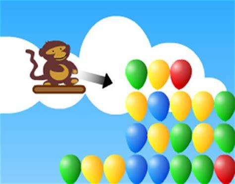 image gallery monkey balloon game