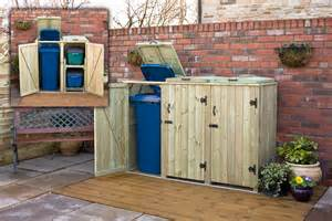 wheelie bin shed build your own search palety