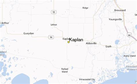 kaplan louisiana map kaplan weather station record historical weather for