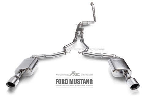 mustang exhausts ford mustang valvetronic exhaust system fi exhaust