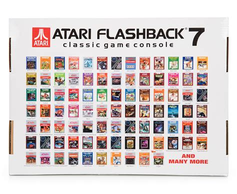 atari flashback  classic game console  built