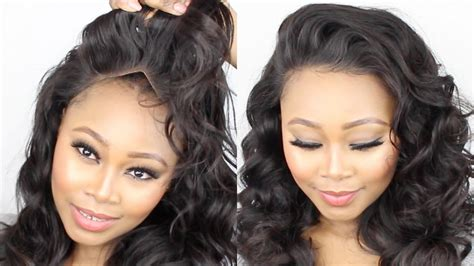 frontal sew in hairpieces for women dallas tx how to make a lace frontal wig tutorial start to finish