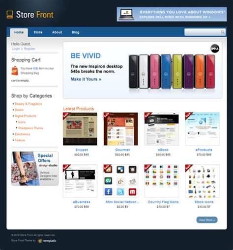 wordpress themes hardware store store front premium wordpress theme