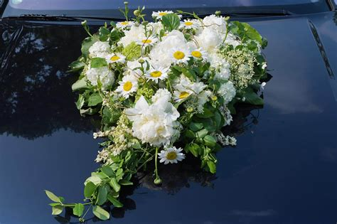 Autodeko Hochzeit by Autodeko Hochzeit Blumen Gro 223 E Bildergalerie