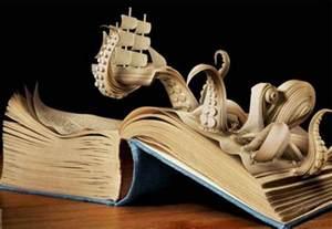 Bookcase For Paperbacks Book Art Gretha Scholtz
