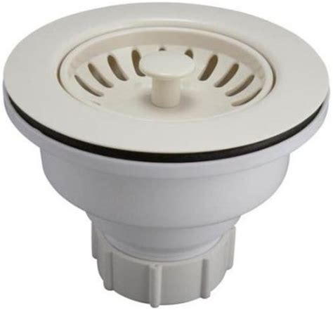 plastic kitchen sink buy keeney k1442bsq deep cup plastic sink strainer with