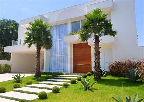 entrada de casas jardim residencial como montar decorar plantas veja
