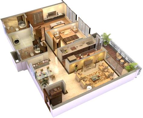 home design 3d 2 bhk hubtown sunmist andheri e mumbai