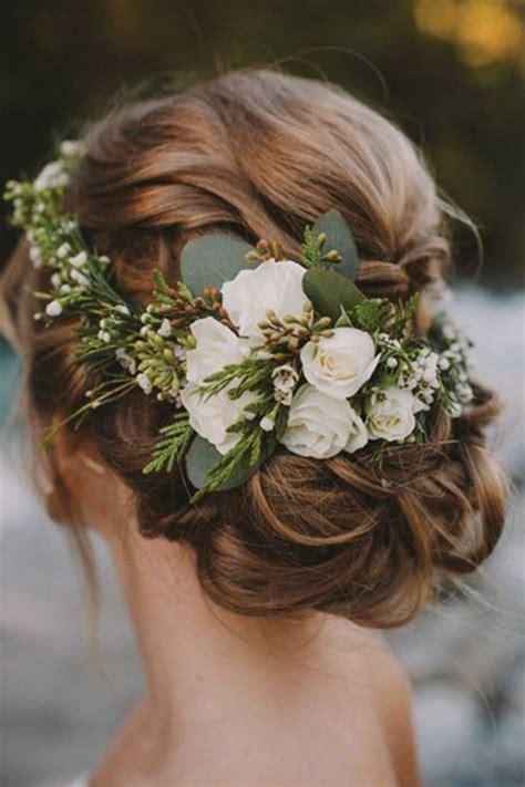 Flower Wedding Hair by Best 25 Bridal Hair Flowers Ideas On